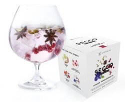 Gin Tribe Secco 8 Pack - Mixed Drink Infusion - Includes 8 Packets Of : Spiced Pomegranate - Gin Tri