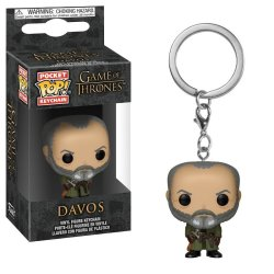 Funko Pocket Pop Keychain:game Of Thrones S10-DAVOS