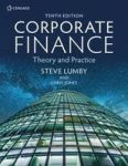 Corporate Finance - Theory And Practice Paperback 10TH Edition