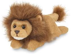 USA Bearington Lil' Prince Small Plush Stuffed Animal Lion 9 Inches