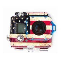 American Flag Sticker Camera Housing Case Skin Decal For Gopro Hero 3 - AM49