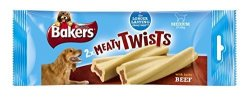 Bakers 2 Meaty Twists 180 G Pack Of 12