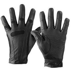 Bionic Men's Cashmere-lined Dress Gloves Black XL