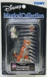 TOMY Disney Magical Collection 079 The Aristocats Thomas O'malley And Marie Figure