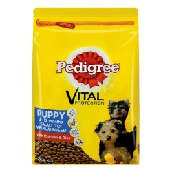 Pedigree - Puppy Dry Dog Food Chicken And Rice 3.5KG