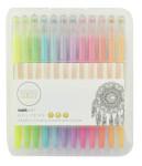 Kaisercraft Gel Pen Box - 24 Colours 12 Pastel And 12 Glitter