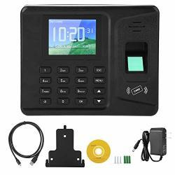 """Huakii Fingerprint Time Attendance Machine 2.8"""" Tft Fingerprint Recorder Attendance Clock Time Card Machine Eu"""