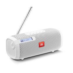 JBL Tuner Portable Bluetooth Speaker With Dab fm Radio White