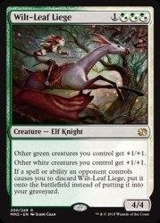 Magic The Gathering - Wilt-leaf Liege 200 249 - Modern Masters 2015 - Foil