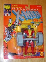 """X Men The Uncanny X-men Colossus W power-lift 5"""" Action Figure 1993 Toybiz"""