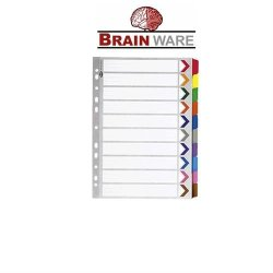 Brainware A4 Board Dividers Tab 1