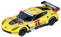 Carrera Go 64032 Chevrolet Corvette C7-R Car Slot Racing Vehicle Yellow