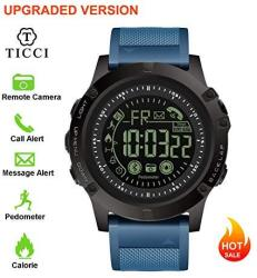 Upgraded T3 Electronic Fitness Tracker Digital Sports Bluetooth Smart Watch Waterproof Pedometer Remote Camera Incoming Call Or