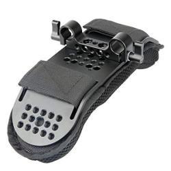 NICEYRIG Steady Shoulder Mount shoulder Pad For Video Camcorder Camera Dv dc Support System Dslr Rig 15MM Railblock