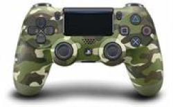 Playstation 4 Dualshock 4 Controller Green Camo Retail Box 6 Month Warranty