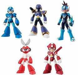 Bandai Mega Man 66 Action Character Candy Toy MINI Figure Collection Anime Art VOL.2 Blind Box