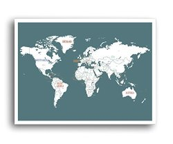 Kindred Sol Collective Black Friday Cyber Monday 18x24 World Map