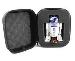 CASEMATIX Collector Case For R2-D2 App-enabled Droid By Sphero R2D2 Carry Case With Protective Foam Compartment And Travel Handle