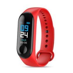Bakeey M3 Waterproof Heart Rate Blood Pressure Monitor Camera Control USB Charging S