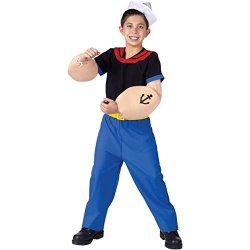 Fun World Popeye The Sailor Man Child Costume Medium 8-10