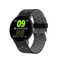Full Touch Ips Screen Waterproof Fitness Smart Watch - Black