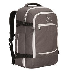 2a90ba7d8777 Hynes Eagle Travel Backpack 40L Flight Approved Carry On Backpack Khaki