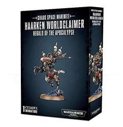 Chaos Space Marines Haarken Worldclaimer Herald Of The Apocalypse Warhammer 40 000