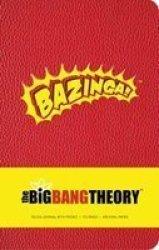 Big Bang Theory Hardcover Ruled Journal Hardcover