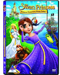 The Swan Princess: Princess Tomorrow Pirate Today Dvd