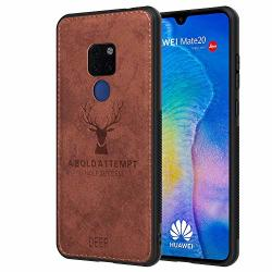 Huawei Mate 20 Case 201 8 Full Protects Cover With Built-in Screen Protector For Huawei Mate 20 3D Imprinted Deer Series Shockpr
