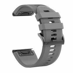Hellosy Soft Silicone Band Compatible With Garmin Fenix 5X Band garmin Fenix 3 Band garmin Fenix 5X Plus Band garmin Fenix 3 Hr