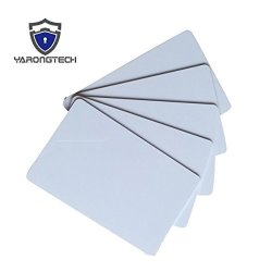 YARONG Tech Rfid 125KHZ EM4305 Blank White Cards Writable Rewrite Plastic Cards Pack Of 10