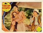 Pop Culture Graphics Tarzan Escapes Poster Movie 1936 Style I 11 X 14 Inches - 28CM X 36CM Johnny Weissmuller Maureen O'sullivan