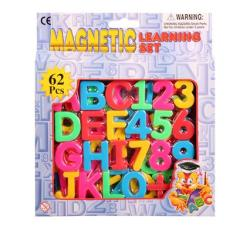 Magnetic Letters & Numbers Educational Learning Set