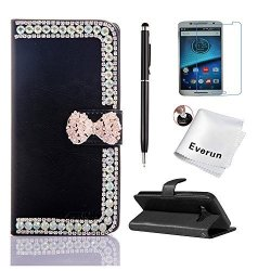 new product 3f0ed 86bac Everun LG V20 Case LG V20 Case Wallet Luxury 3D Bling Diamond Pu Leather  Flip Protective Wallet Credit Card Case For LG V20 With | R590.00 |  Cellphone ...