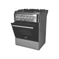 Totai 4 Burner Gas Stove & Oven With Flame Failure Device Stainless Steel