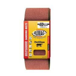 RUWAG P80 Sanding Belt 100 X 560MM 3 Pack