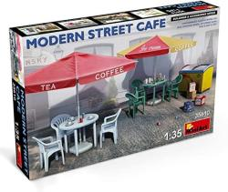 Scale Plastic Model Kit - Military Miniatures Modern Street Caf - 1 35 Diorama Accessories - Plastic Model Kits To Build For Adults
