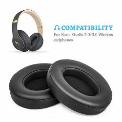 Beats Studio Replacement Ear Pads By Link Dream - Replacement Ear Cushions Kit Memory Foam Earpads Cushion Cover For 2.0 Wired w