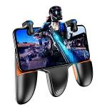 Pubg Mobile Controller Auto High Frequency Click Mobile Game Controllers Trigger For Pubg fortnite rules Of Survival Gaming Grip