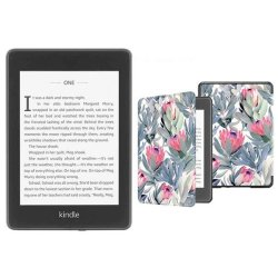 Kindle Paperwhite 10TH Gen Wi-fi With S o 8GB - Proteas Cover Bundle