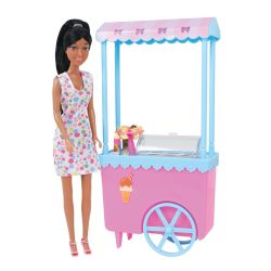 Caylee Brunette Ice Cream Cart