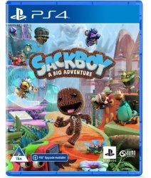 SIEE Sackboy: A Big Adventure PS4 PS5 Upgrade Available