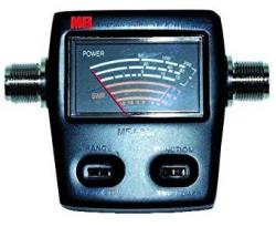 MFJ-844 Compact In-line Swr Meter 144 440 Mhz 15 60 200W