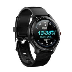 Bakeey L9 Ecg Heart Rate Monitor Ultra Thin Wristband Fitness Tracker Bluetooth Mu