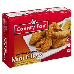 County Fair - Crumbed MINI Chicken Fillets 400G