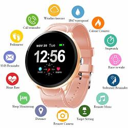 Uwinmo Smart Watch Fitness Tracker With Heart Rate Monitor & Blood Pressure Monitor For Android & Ios Waterproof Activity Tracker With Calorie Counter &