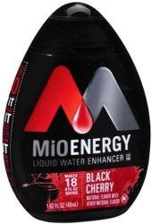 Energy Mio Black Cherry Liquid Water Enhancer Case Pack 12 Mio Black Cherry Liquid Water Enh