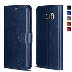 OCASE Galaxy S7 Edge Case Tpu Shockproof Interior Protective Case Card Slot Kickstand Leather Wallet Flip Case Samsung Galaxy S7