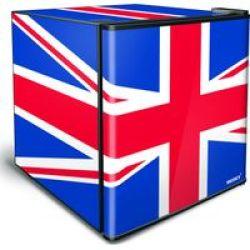 Stingray 46L Counter-top MINI Fridge - Union Jack Flag
